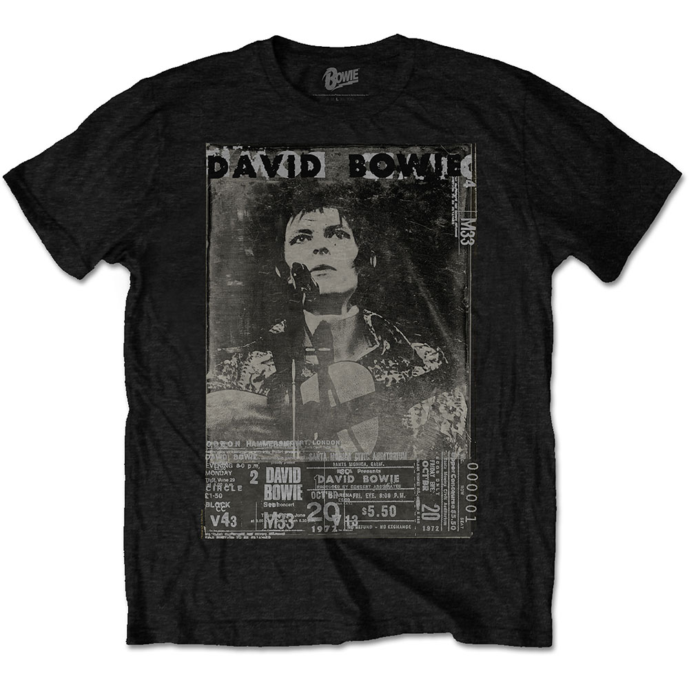 David Bowie - Ziggy Live (Black)