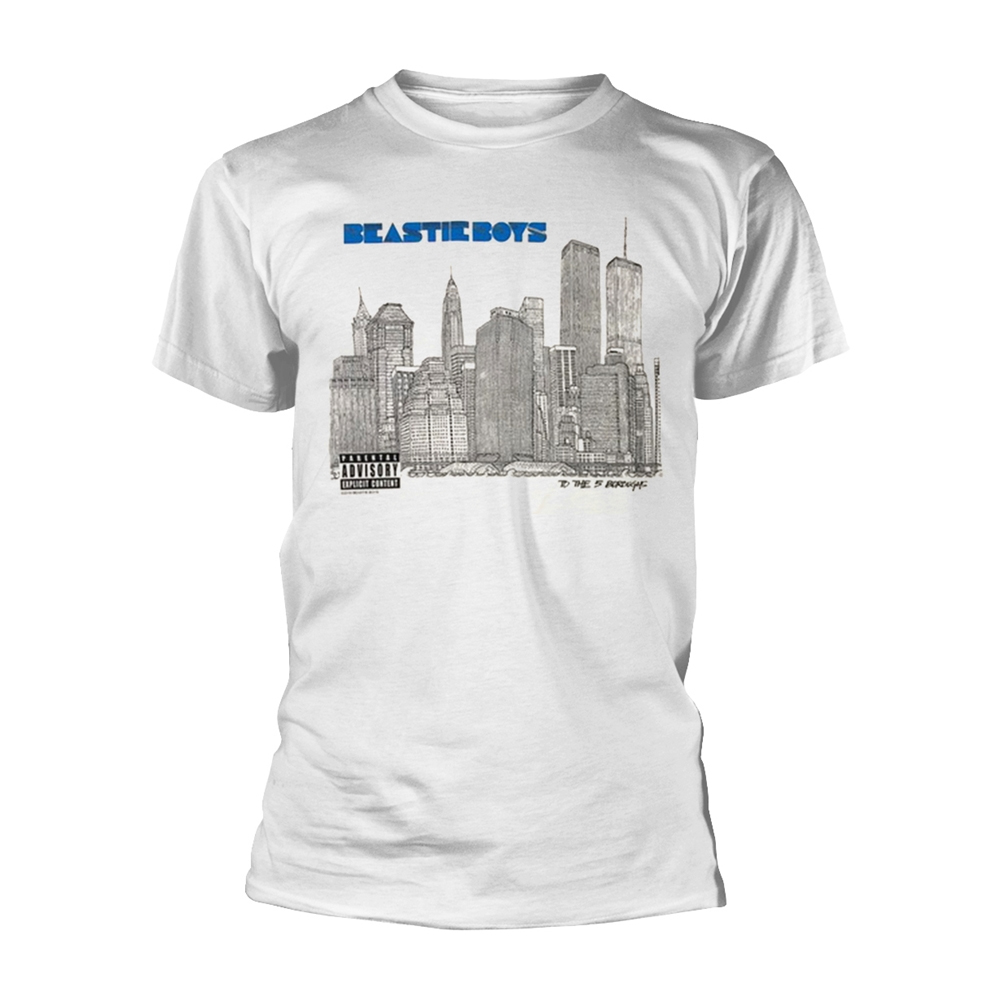 Beastie Boys - 5 Boroughs (White)