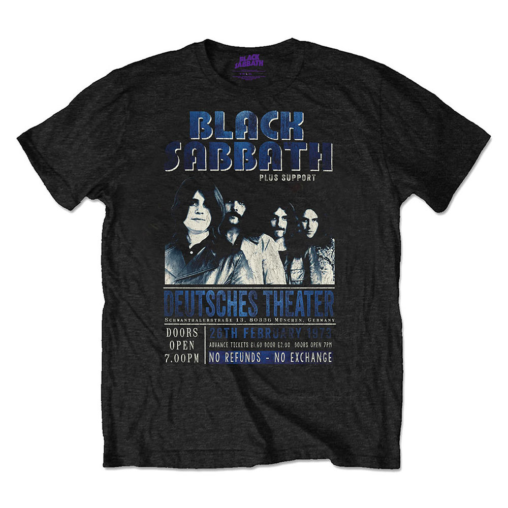 Black Sabbath - Deutsches '73  Eco Tee