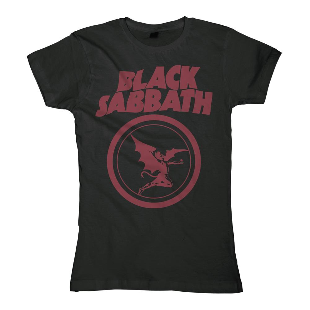 blabbermouth fallen angel logo black