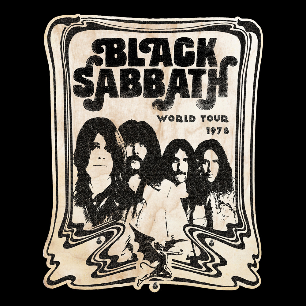 Black Sabbath - World Tour '78 (Black)