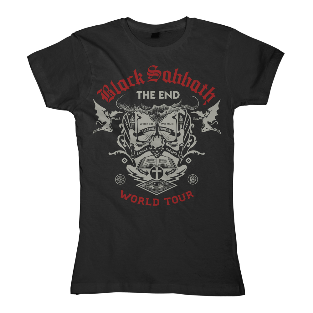 Black Sabbath - The End Scripture (Black) (Womens)