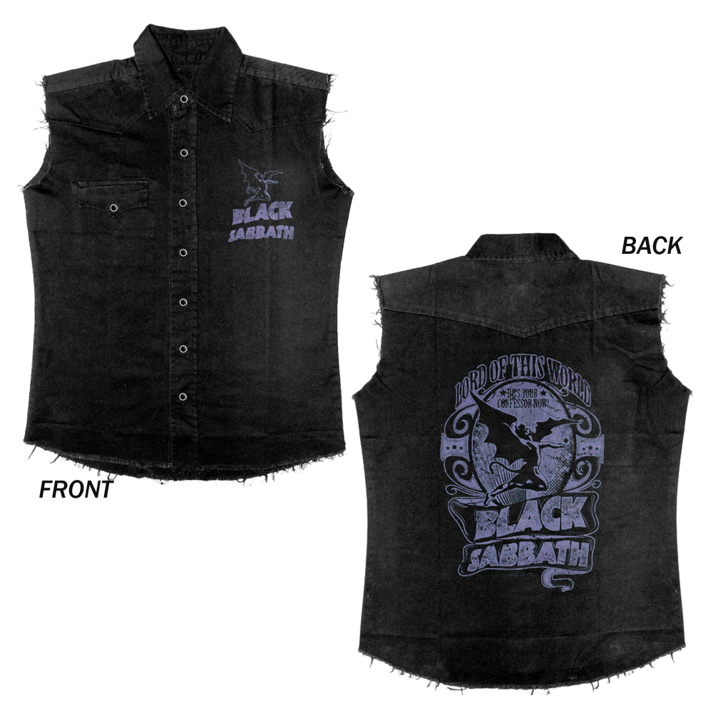 Black Sabbath - Lord Of This World (Denim Waistcoat)