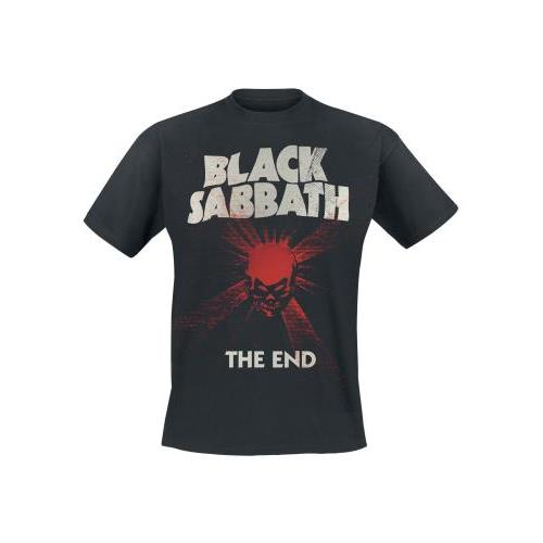 Black Sabbath - The End Mushroom Cloud (Black)
