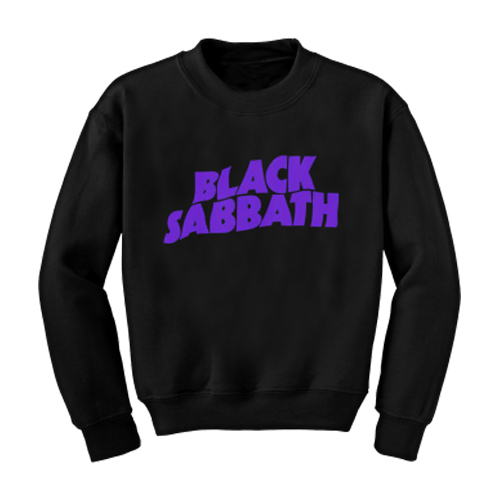Black Sabbath - Logo (Crew Neck Sweatshirt)