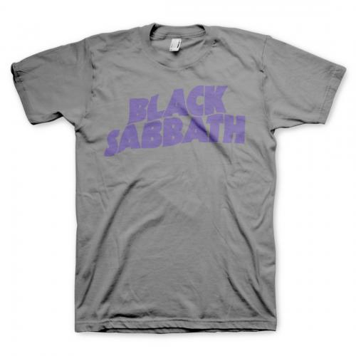Black Sabbath - Purple Logo (Grey)