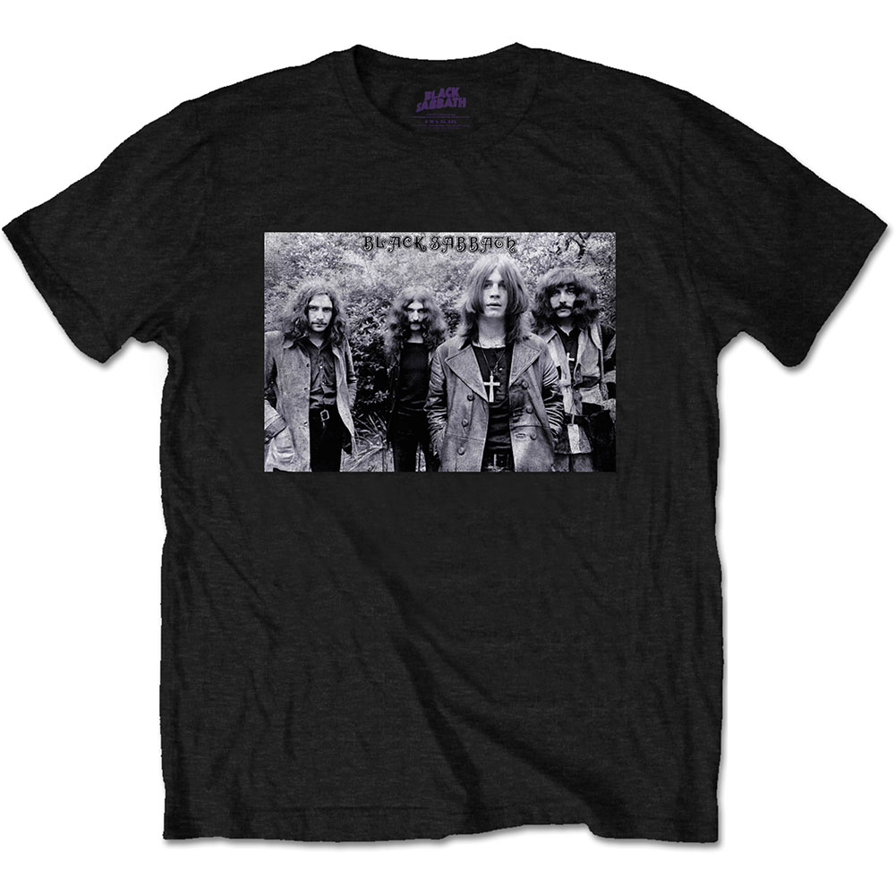 Black Sabbath - Group Shot (Black)