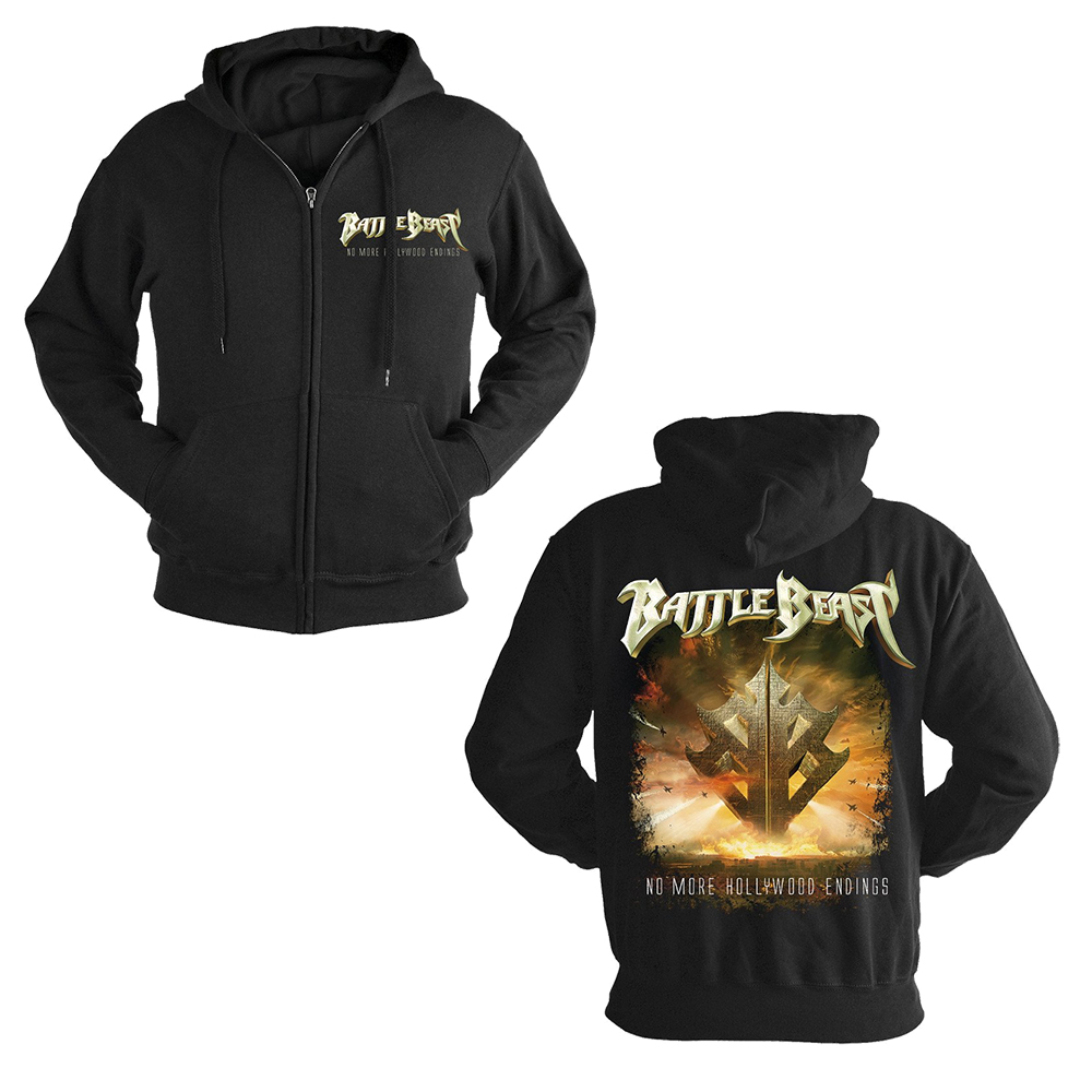 Battle Beast - Hollywood Endings (Zip Hoodie)