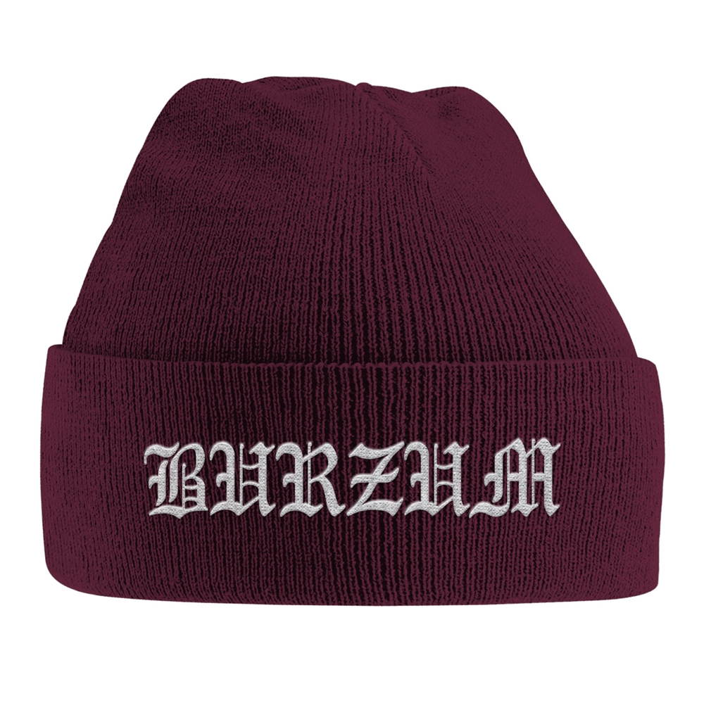 Burzum - Grey Logo (Embroidered Ski Hat)