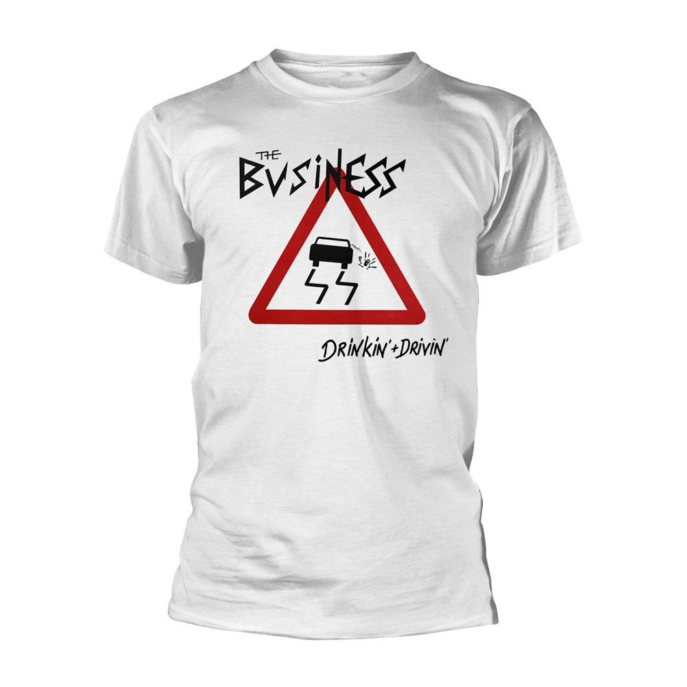 The Business - Drinkin + Drivin (White)