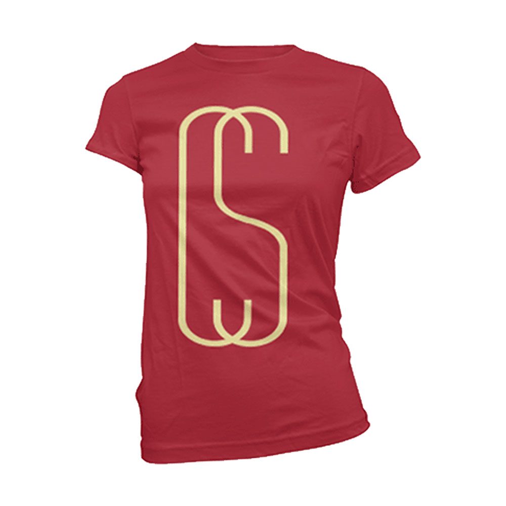 Calum Scott - Tall Logo Womens (Cherry Red)