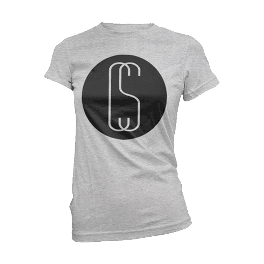 Calum Scott - Circle Logo Womens (Grey Marl)