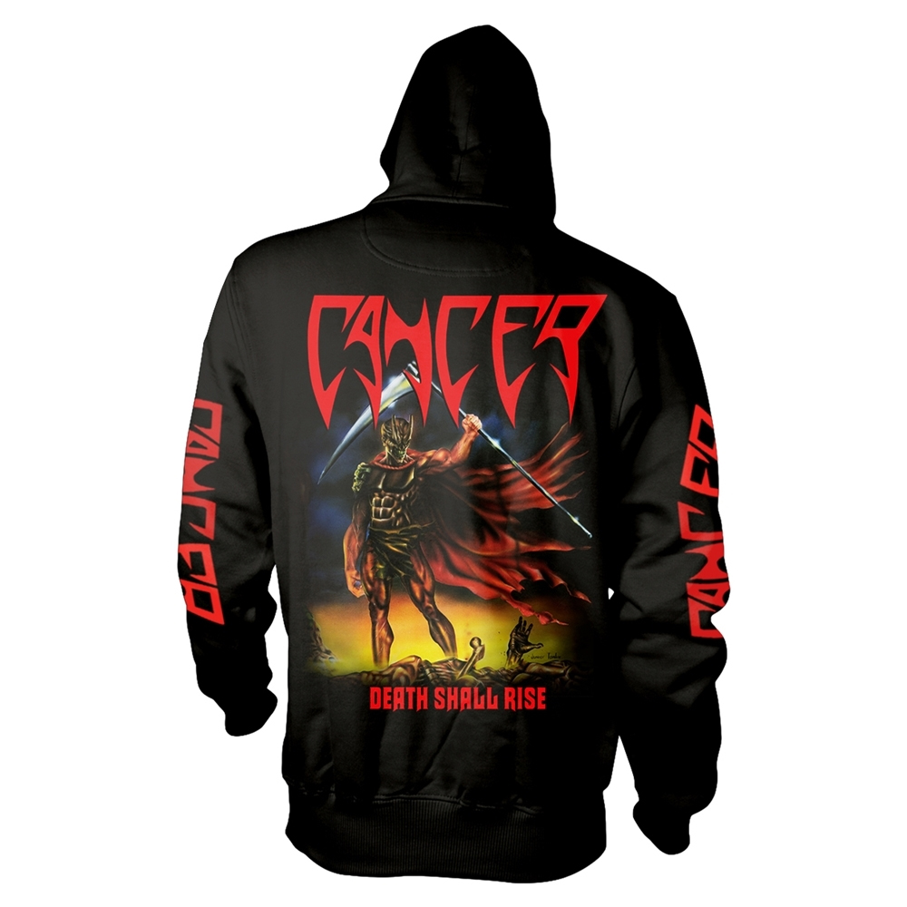 Cancer - Death Shall Rise (Black) (Hoodie)