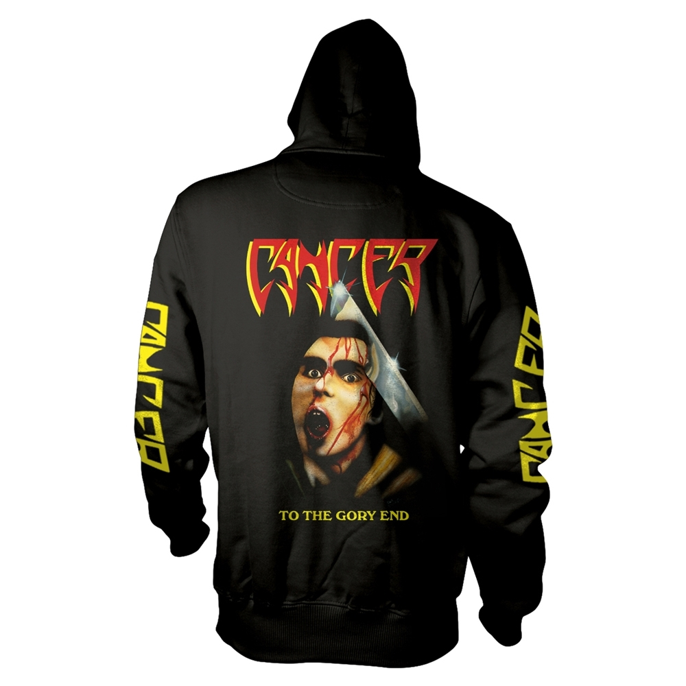Cancer - To The Gory End (Hoodie)