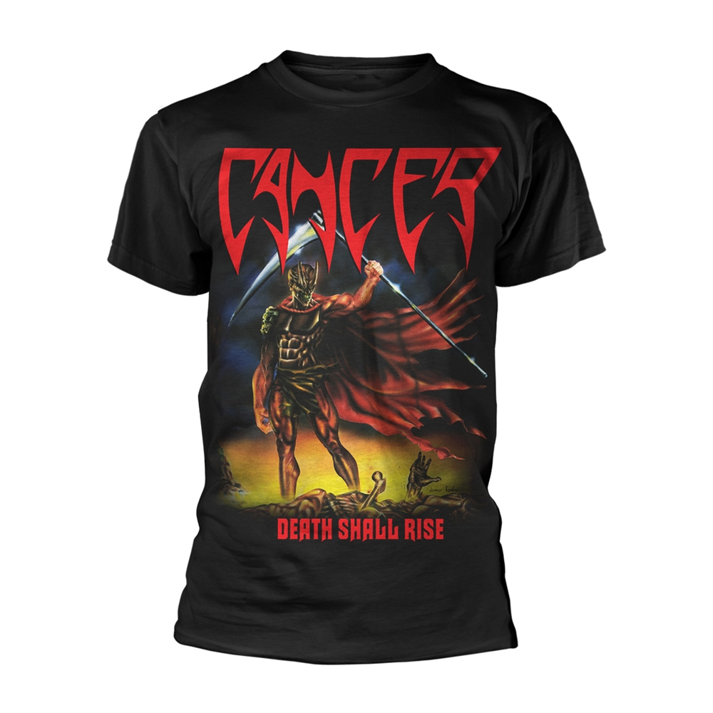 Cancer - Death Shall Rise (Black)