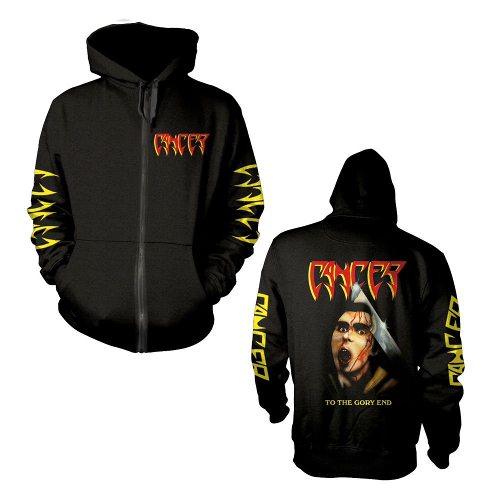 Cancer - To The Gory End (Zip Hoodie)