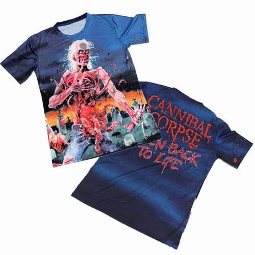 Cannibal Corpse - Eaten Back To Life (Allover Print)