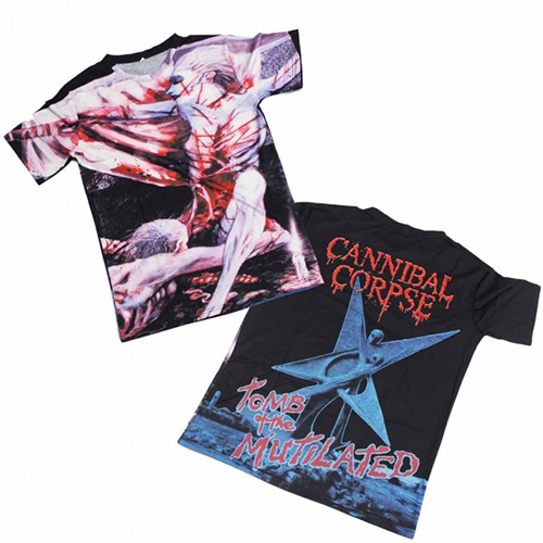 Cannibal Corpse - Tomb Of The Mutilated (Allover Print)