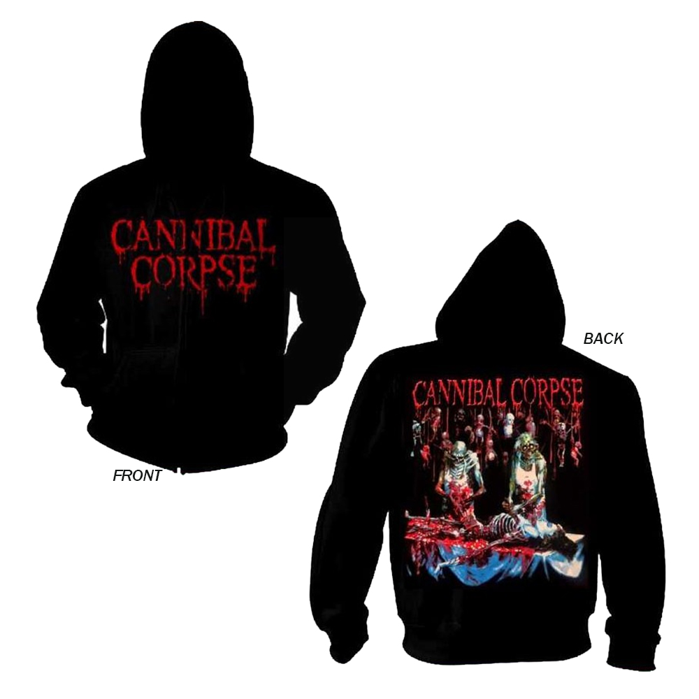 Cannibal Corpse - Butchered At Birth (Zip Hoodie)