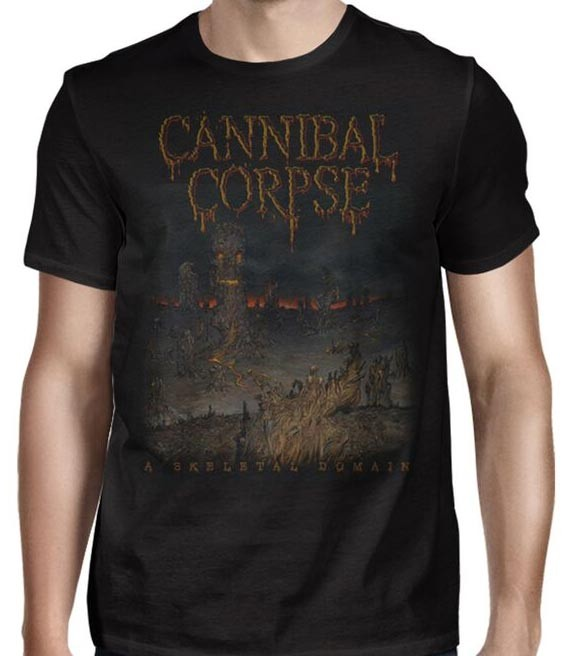 Cannibal Corpse - Skeletal Summer Tour 2016 (Black)