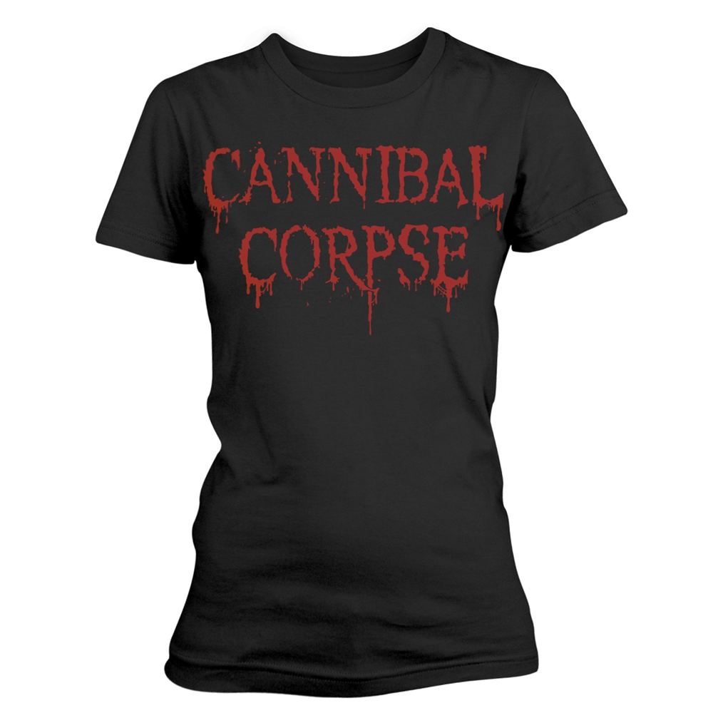 Cannibal Corpse - Dripping Logo (Ladies)