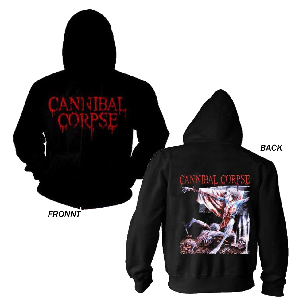Cannibal Corpse - Tomb Of The Mutilated Zip Hoodie
