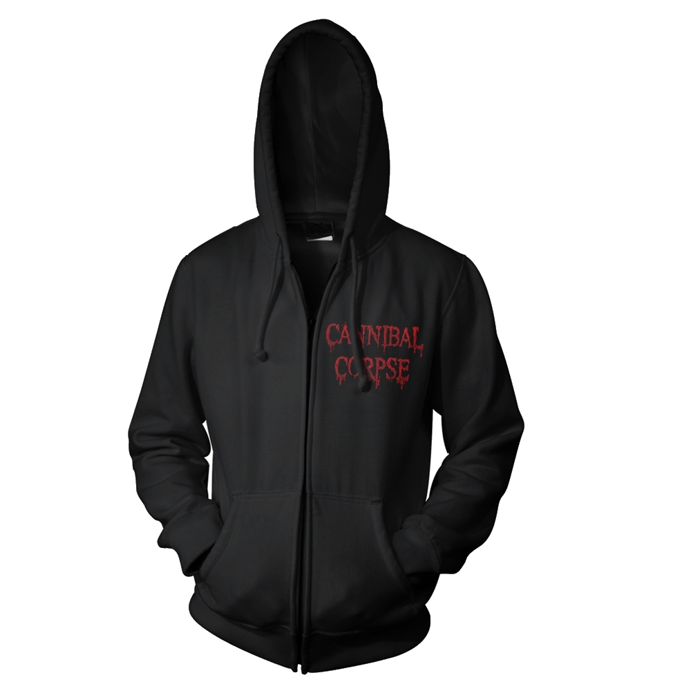 Cannibal Corpse - Red Before Black (Zip Hoodie)