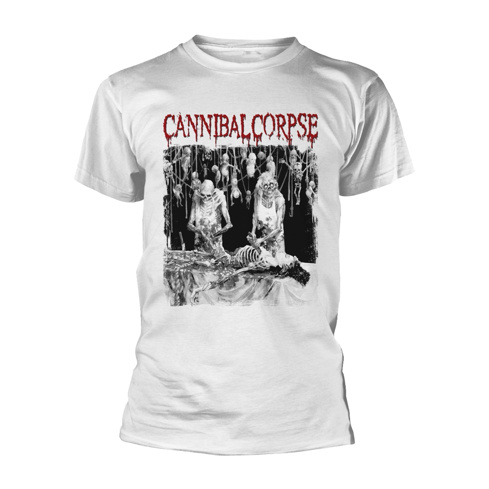 Cannibal Corpse - Butchered At Birth (White)