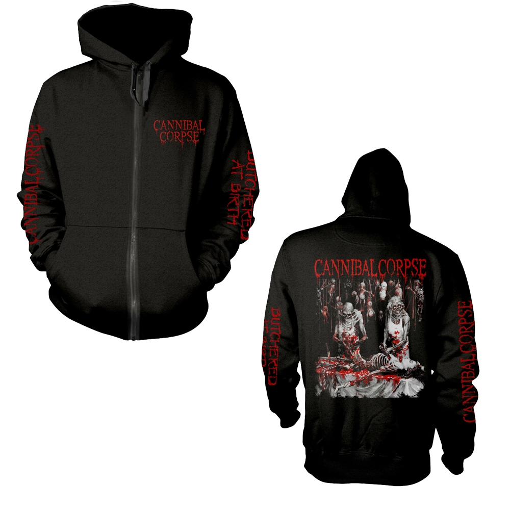 Cannibal Corpse - Butchered At Birth (Explicit) (Zip Hoodie)