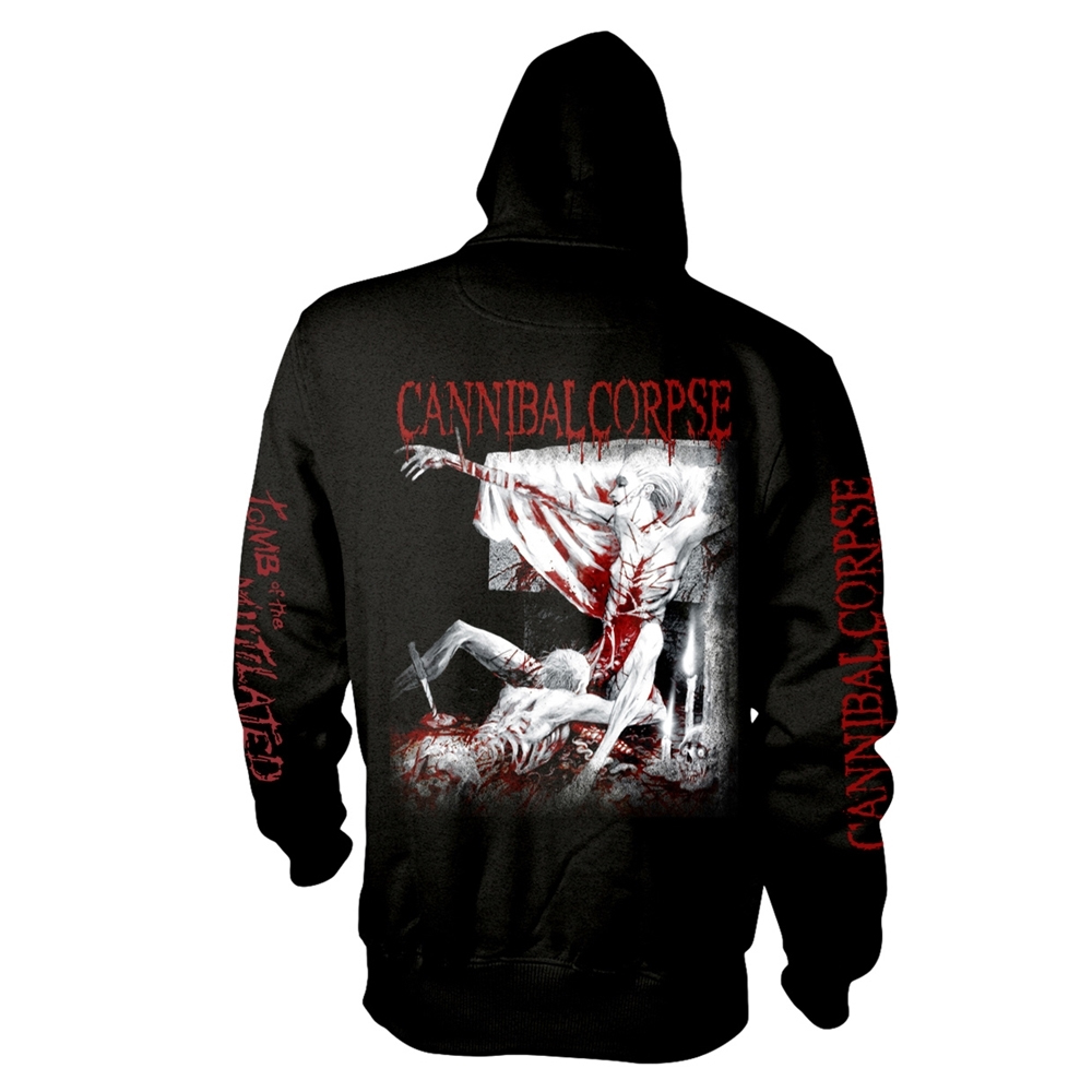 Cannibal Corpse - Tomb Of The Mutilated (Explicit) (Zip Hoodie)