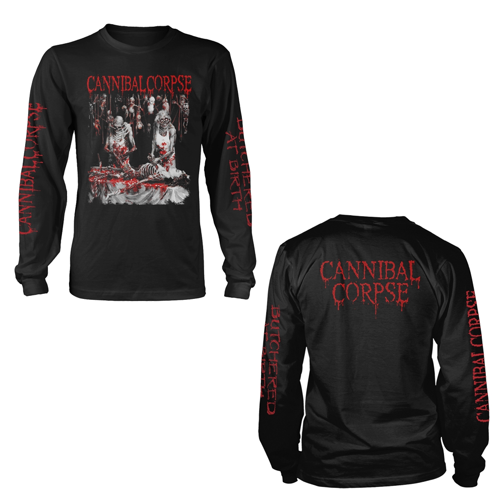 Cannibal Corpse - Butchered At Birth (Explicit) (Longsleeve)
