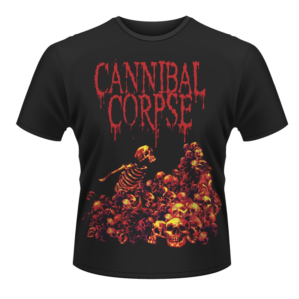 Cannibal Corpse - Pile Of Skulls (Black)