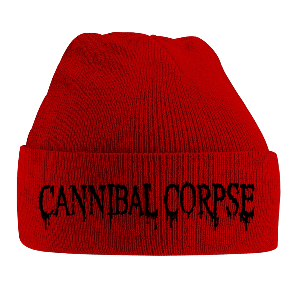 Cannibal Corpse - Black Logo (Embroidered Ski Hat)