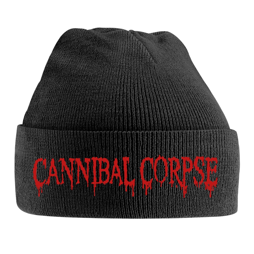 Cannibal Corpse - Red Logo (Embroidered Ski Hat)