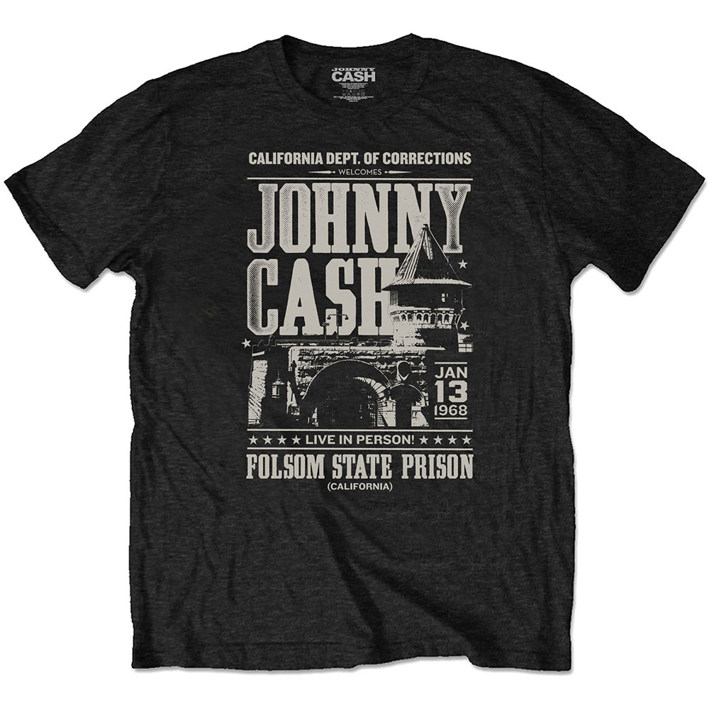 Johnny Cash - Prison Poster Eco Tee