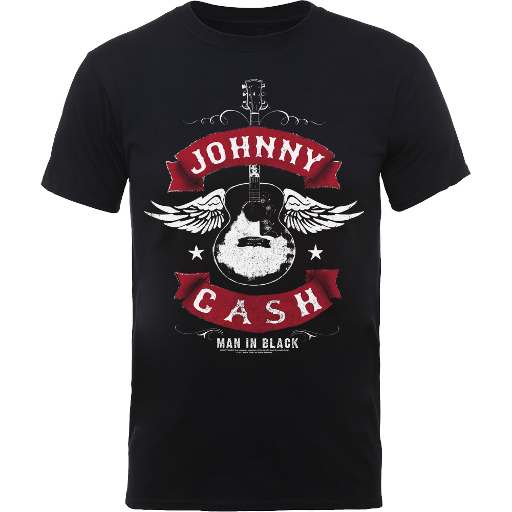 Johnny Cash - Winged Guitar