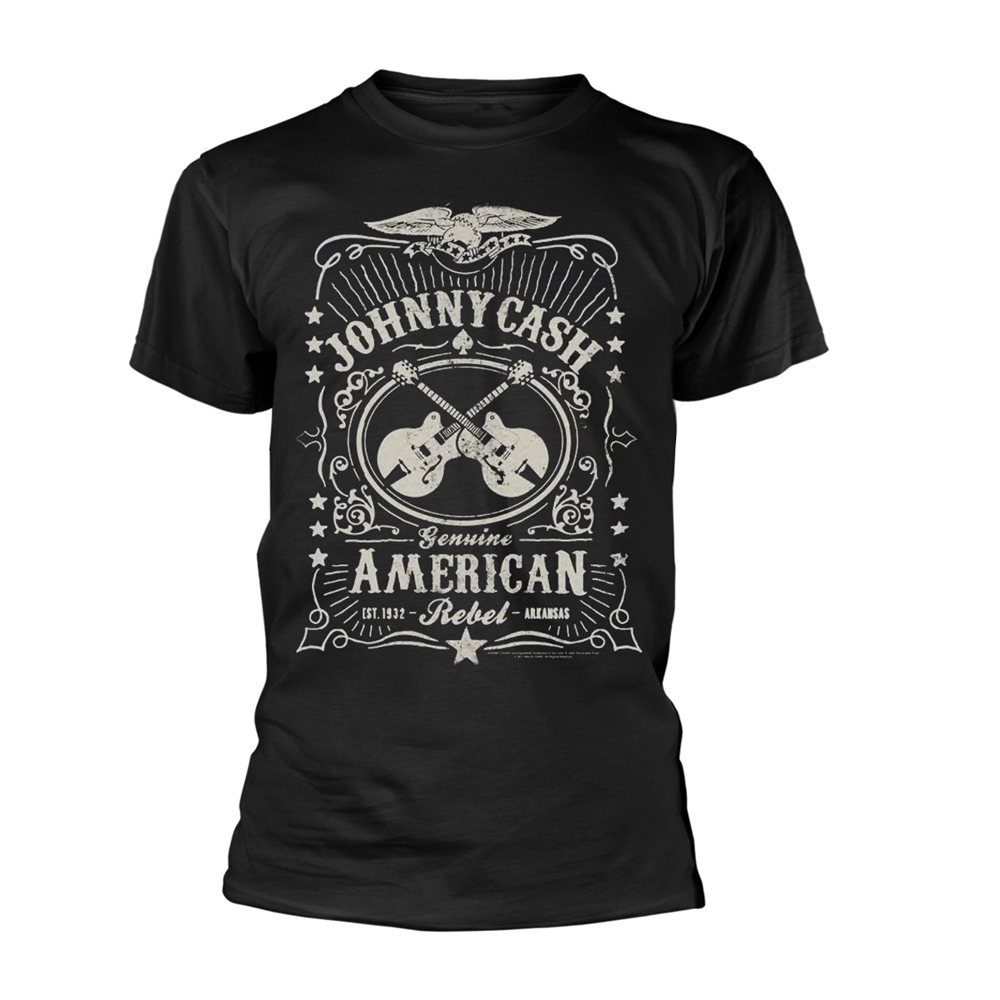 Johnny Cash - American Rebel (Black)