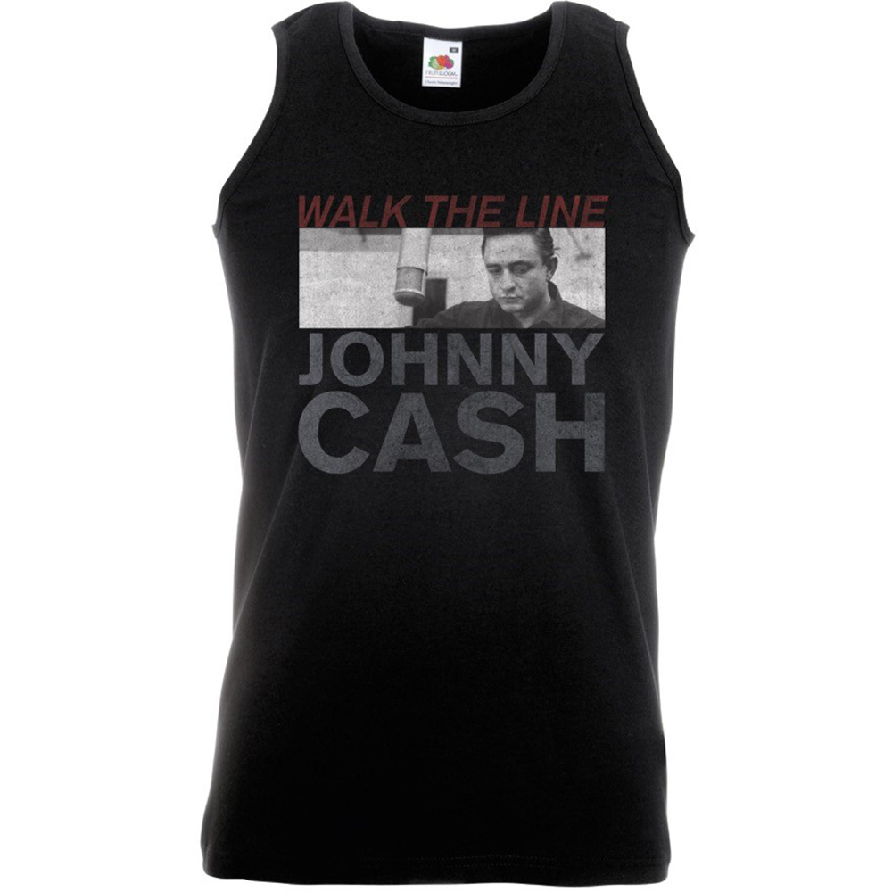 Johnny Cash - Studio Shot (Black)