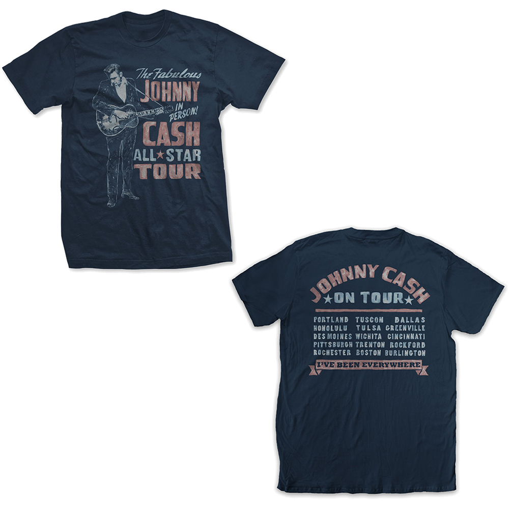 Johnny Cash - All Star Tour (Back Print)