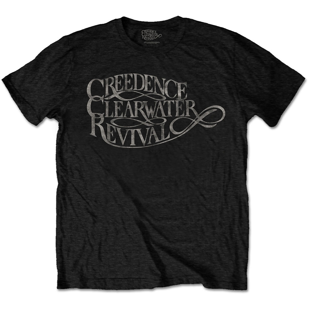 Creedence Clearwater Revival - Vintage Logo (Black)