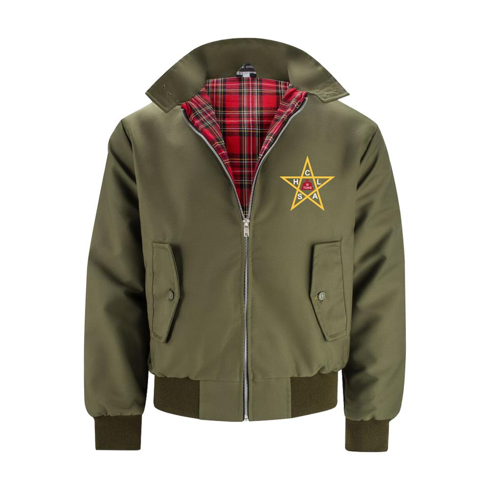The Clash - The Clash Harrington Jacket Olive