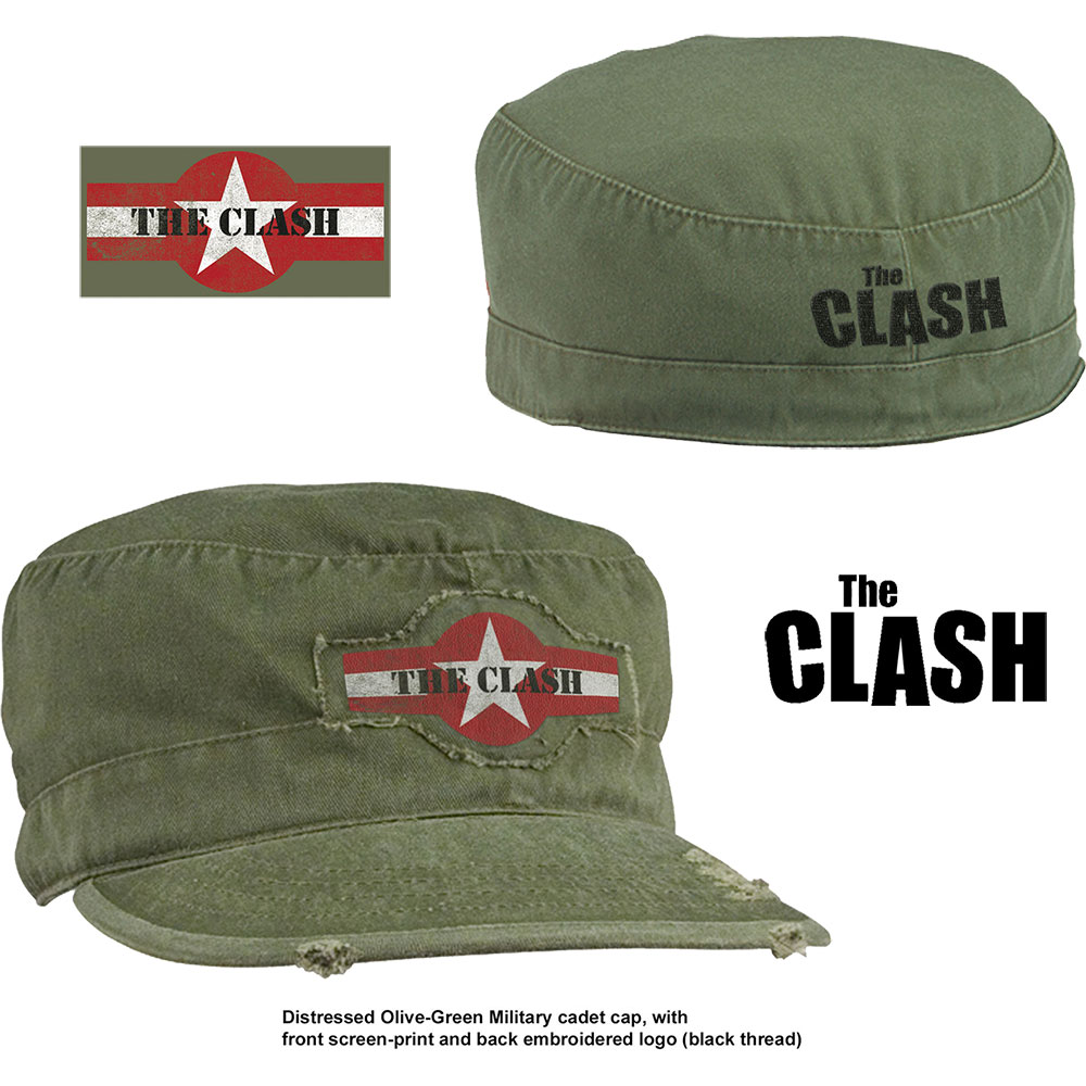 The Clash - Star Logo (Distressed)