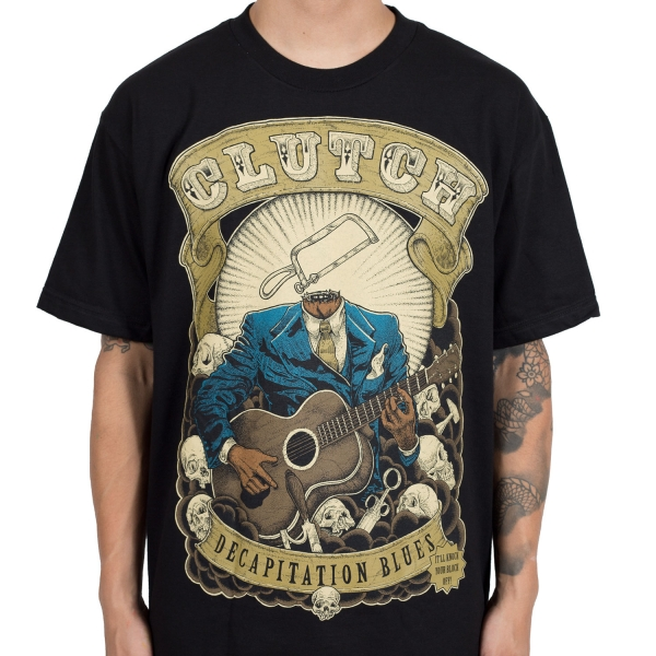 Clutch - Decapitation Blues (Black)