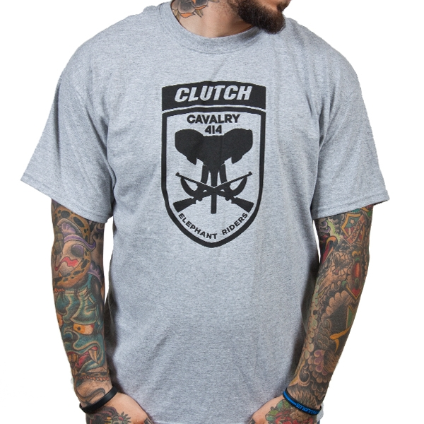Clutch - Elephant Riders (Heather Grey)