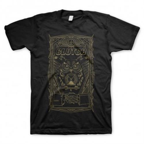 Clutch - All Seeing Owl (Black)