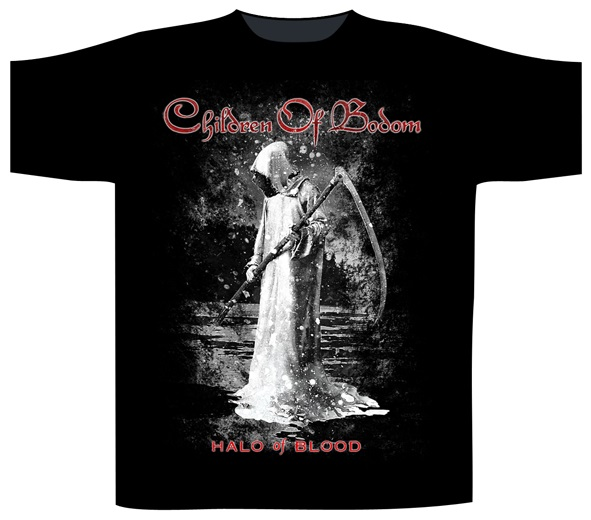 Children Of Bodom - Halo Of Blood (Black)