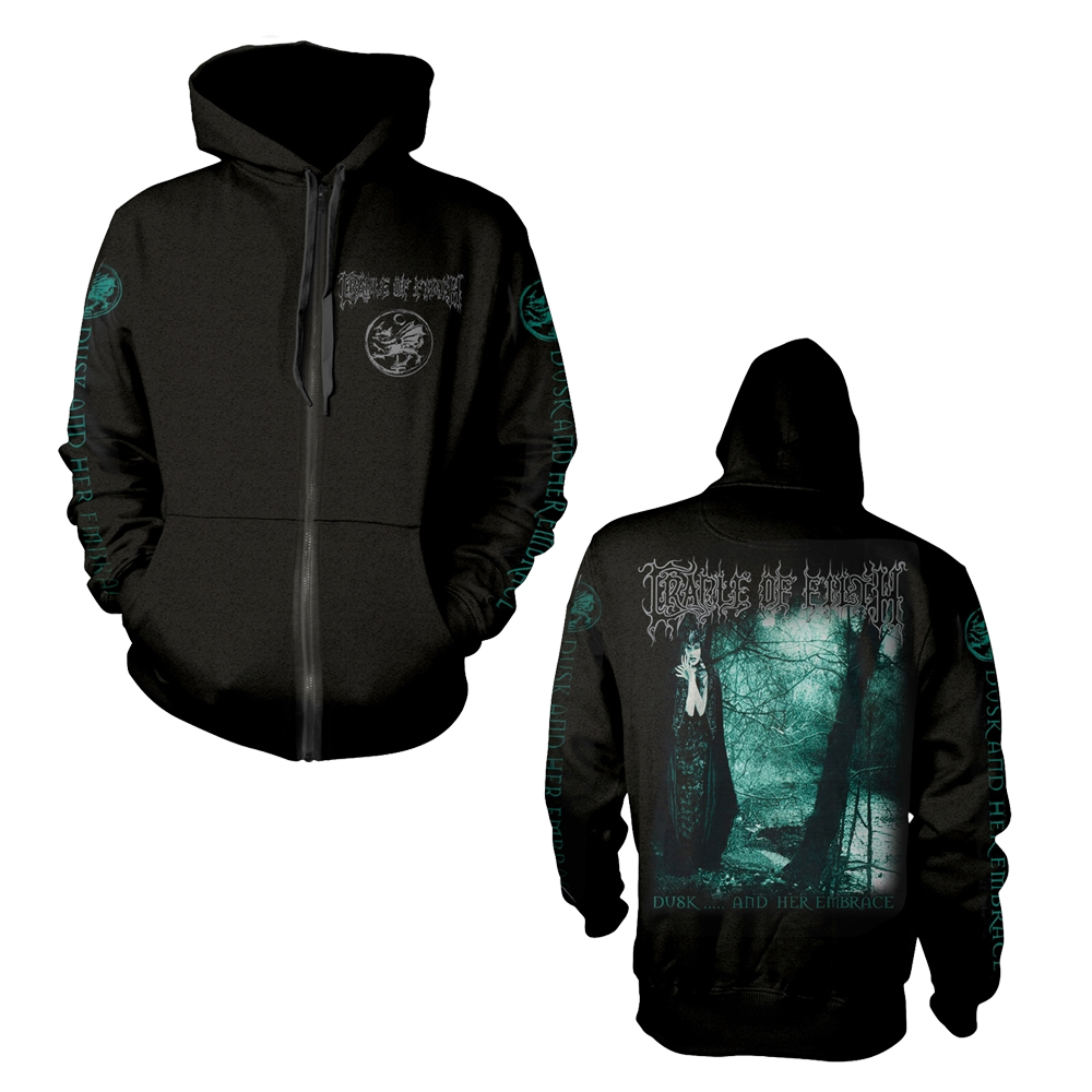 Cradle Of Filth - Dusk And Her Embrace (Zip Hoodie)