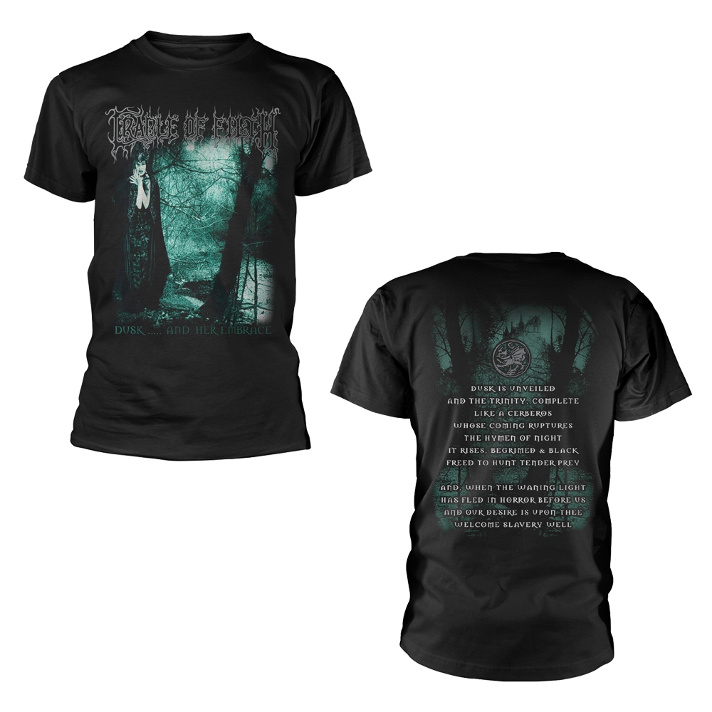Cradle Of Filth - Dusk And Her Embrace  (Black)
