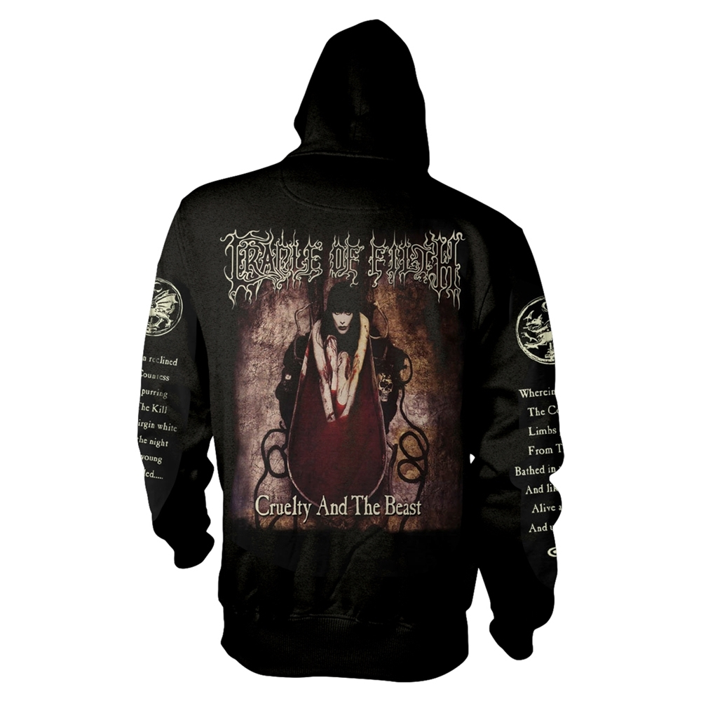 Cradle Of Filth - Cruelty And The Beast (Zip Hoodie)