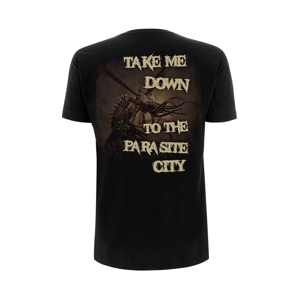 mojo parasite city cradle of filth t shirt. Black Bedroom Furniture Sets. Home Design Ideas